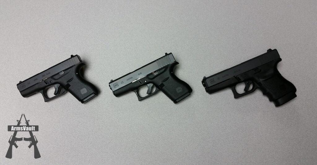 Glock Slimline Pistols - G42 G43 G36