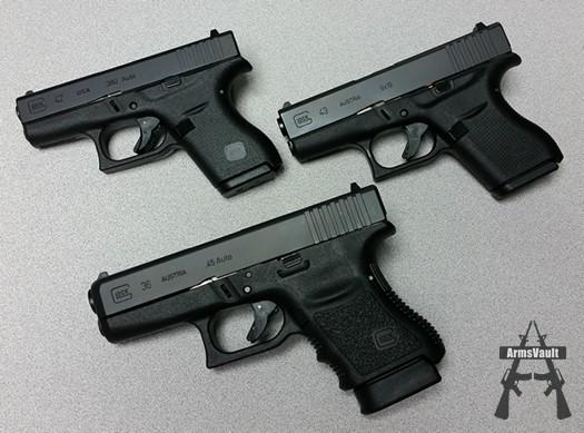 Glock Slimline Pistols