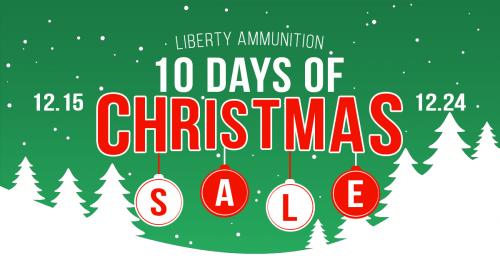 Liberty Ammunition 10 Days of Christmas Sale
