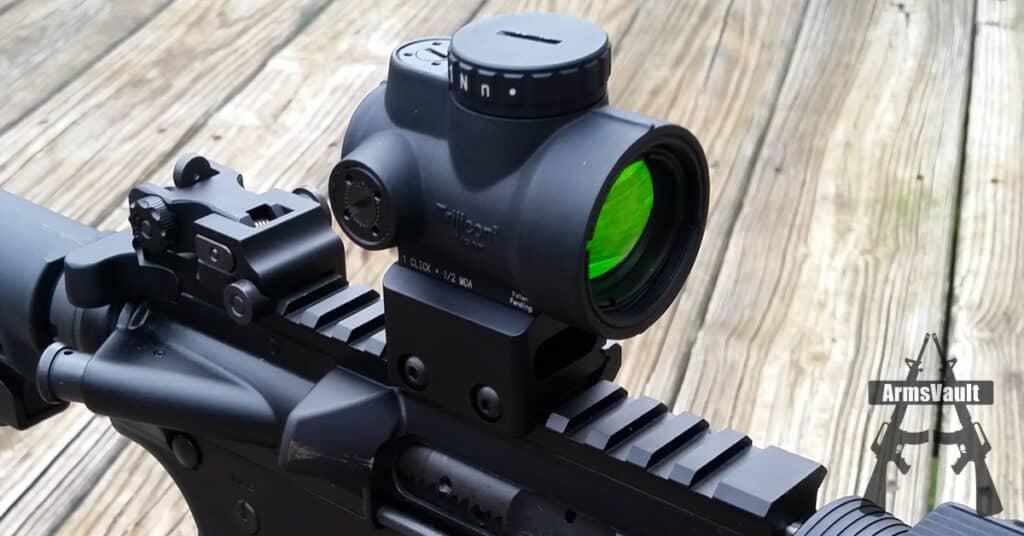 Trijicon MRO - Angled Objective Lens