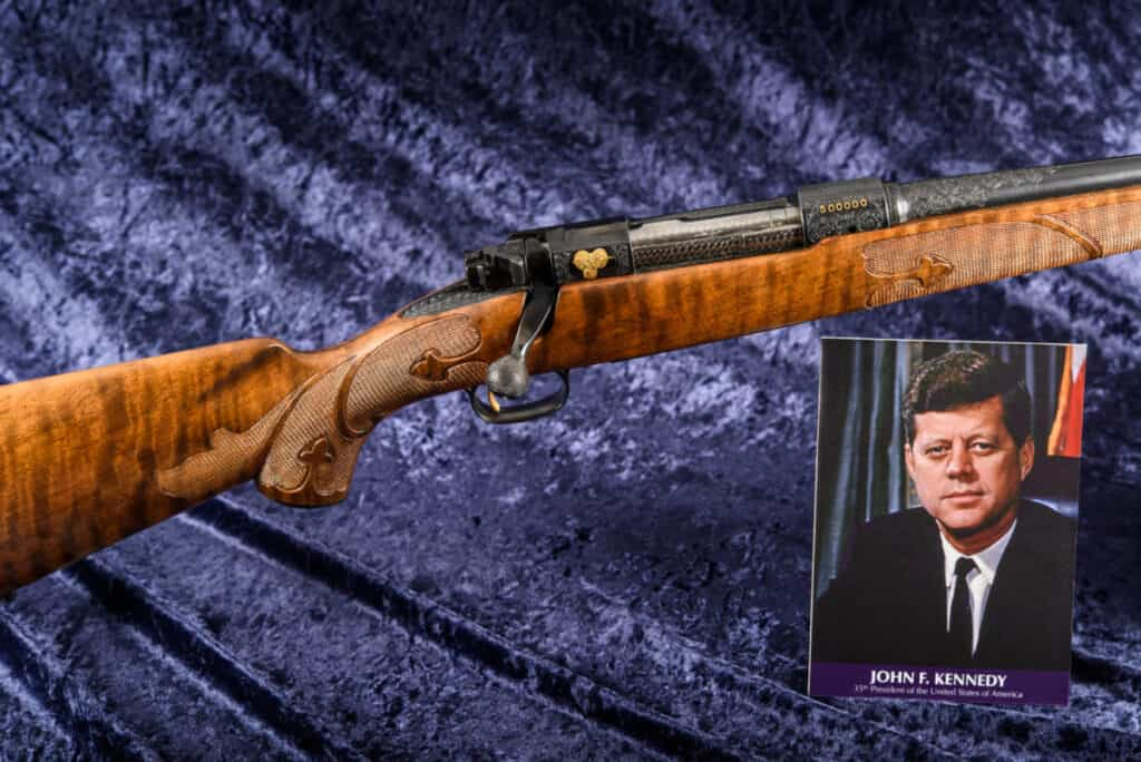 President Kennedys Winchester Model 70 Rifle