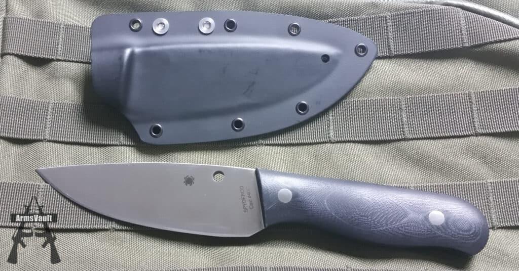 Spyderco Serrata Fixed-Blade Knife