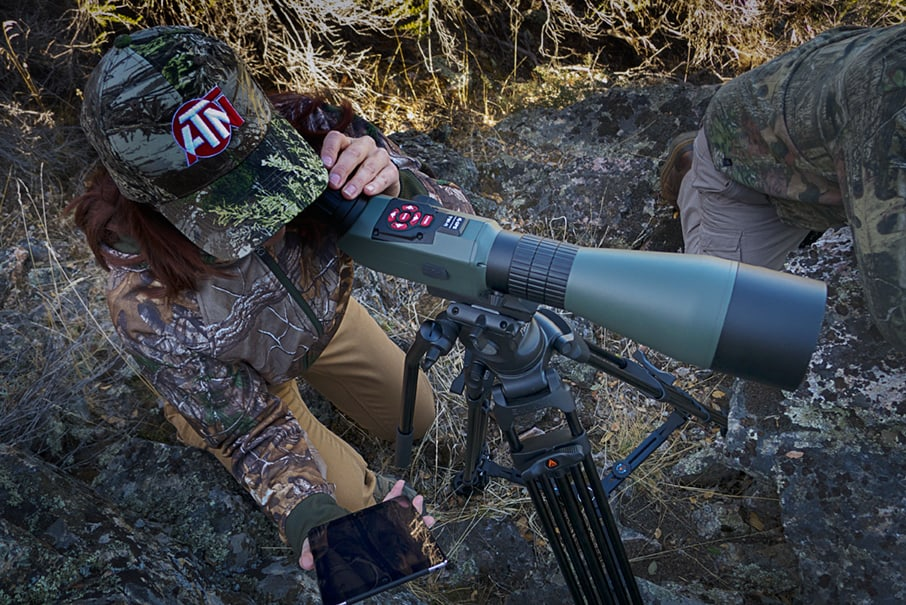 ATN Smart X-Spotter in Use