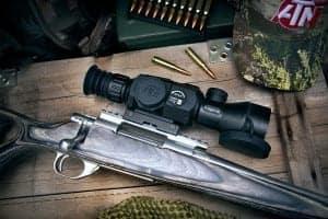 ATN X-Sight II Mounted on Rifle