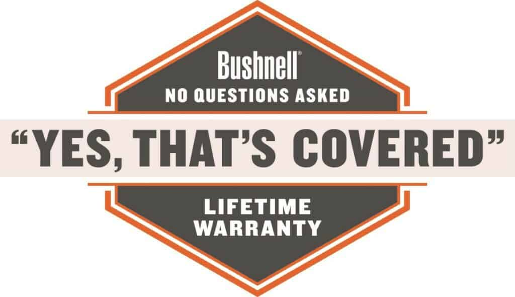 Bushnell Lifetime Warranty