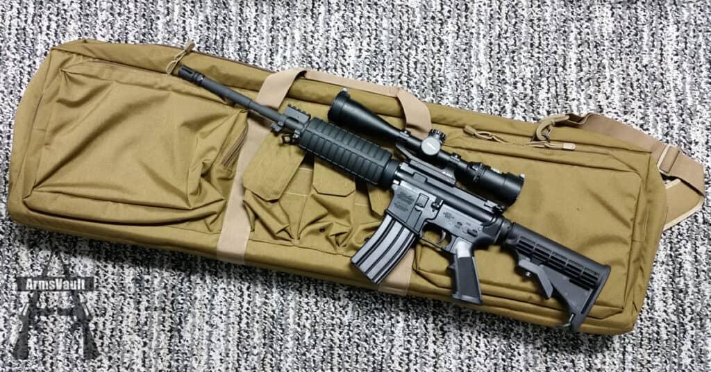 Elite Survival Systems Double Agent Rifle Case with Windham SRC