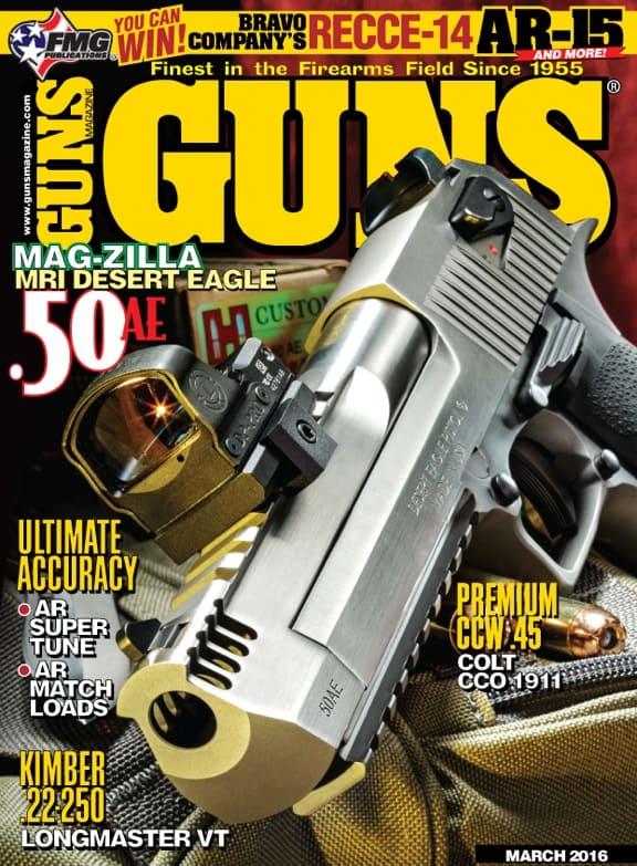 GUNS Magazine March 2016