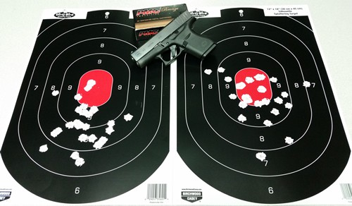 Glock 43 with PMC Bronze 9mm 115gr FMJ