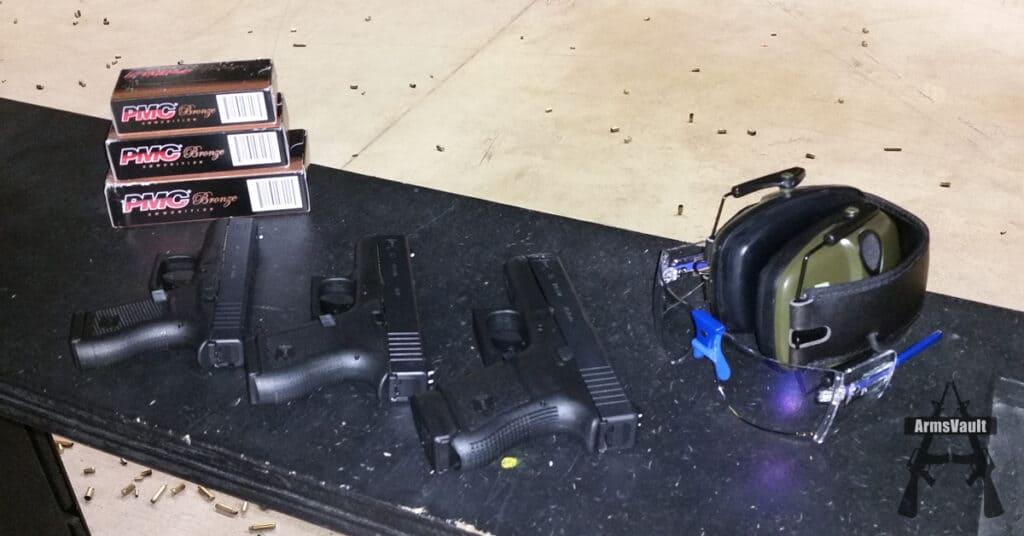 Glock Slimline Pistols - First Range Test
