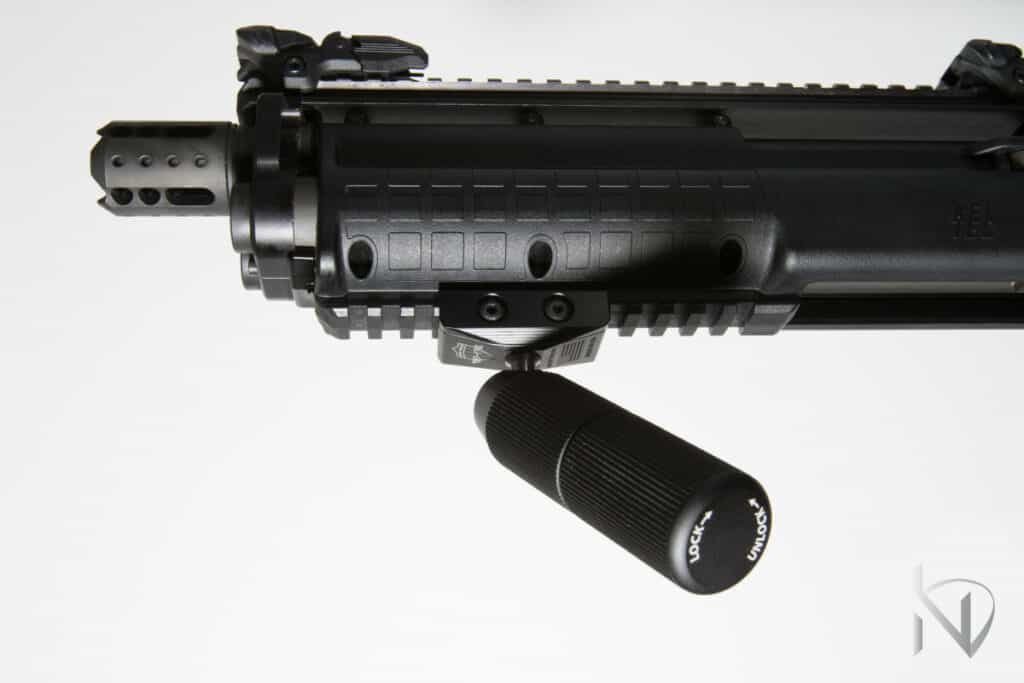 Mid-Evil Industries 360 VFG on Shotgun