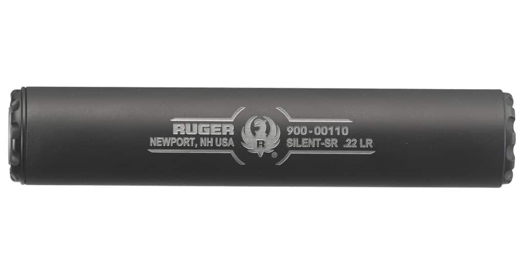 Ruger Silent-SR 22 LR Suppressor