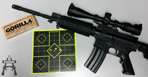 Windham SRC with Gorilla Ammunition 223 69gr Sierra Matchking OTM