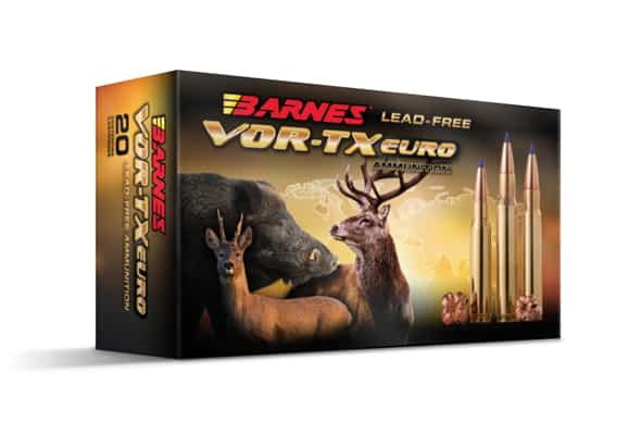 Barnes VOR-TX Euro Hunting Ammunition