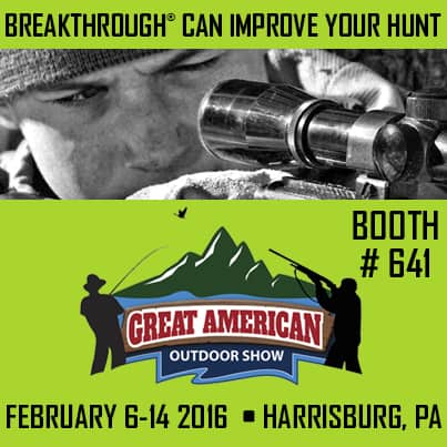 Breakthrough Clean at 2016 Great American Outdoor Show