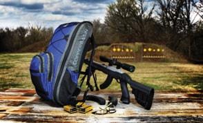 Copper Basin Ruger 10-22 Takedown Backpack at Range