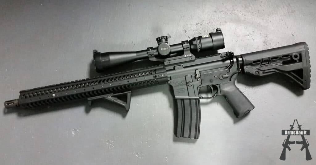 Kavod KVD-15 with Nikon M-223 Riflescope