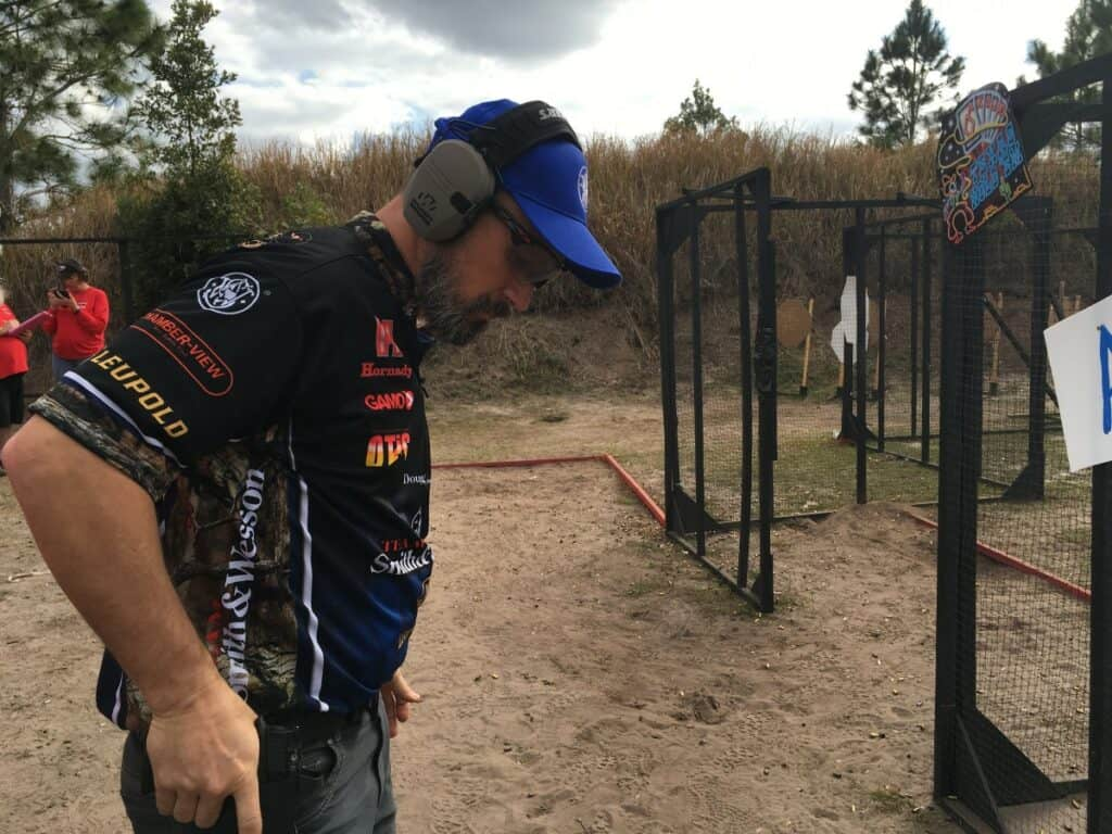 Team Smith Wesson Doug Koenig at 2016 Florida Open