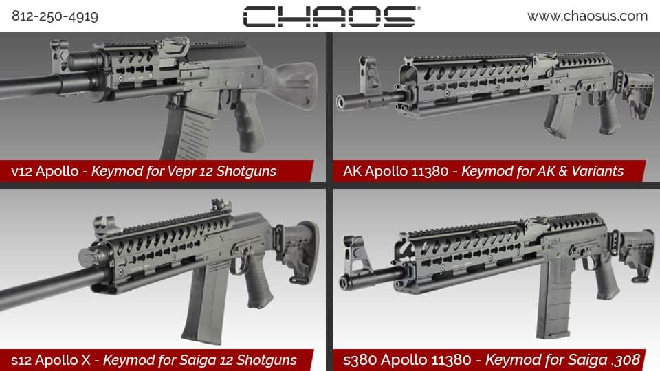 Chaos Apollo Keymod Rails