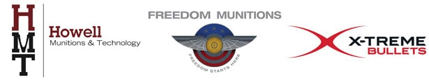 Howell Munitions Technology - Freedom Munitions - X-TREME Bullets
