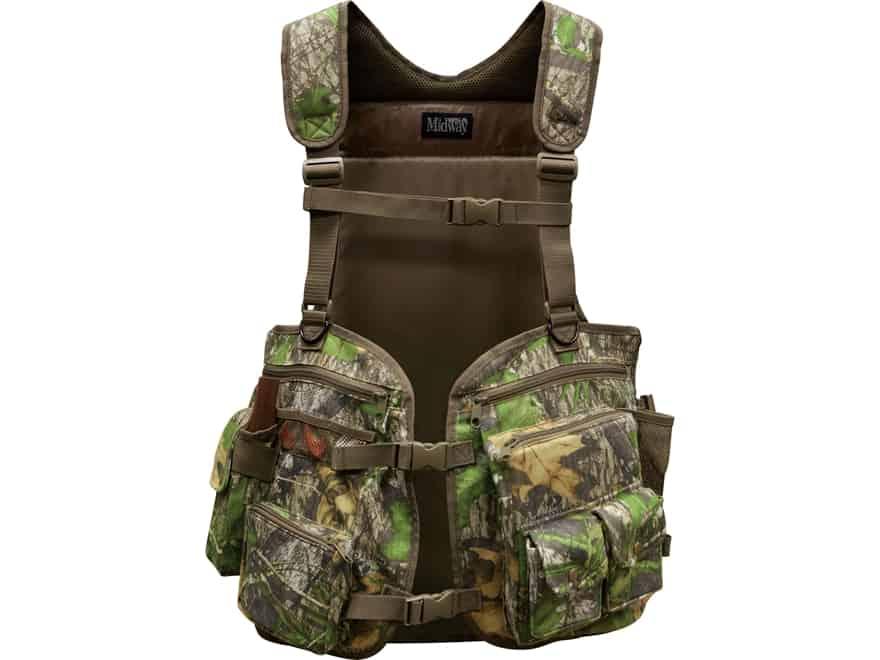 MidwayUSA Full Strut Turkey Vest in Mossy Oak Obsession