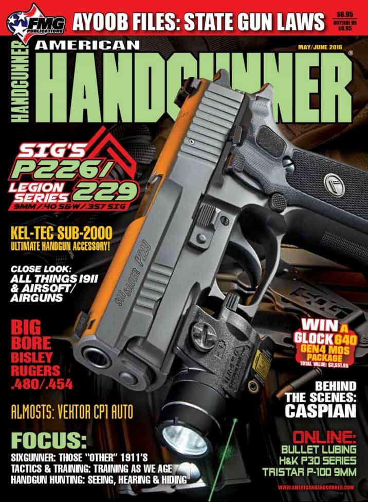 SIG P229-226 Gunfighter Inside American Handgunner