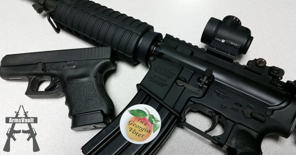 Second Amendment Voter - Windham AR-15 and Glock 36