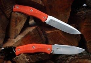Steel Will Knives Gekko 1513 and Gekko 1533 Fixed Blade Knives