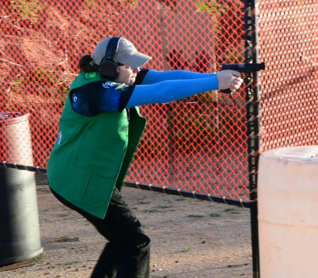 Team Smith and Wesson Randi Rogers at Silver Dollar IDPA Championship