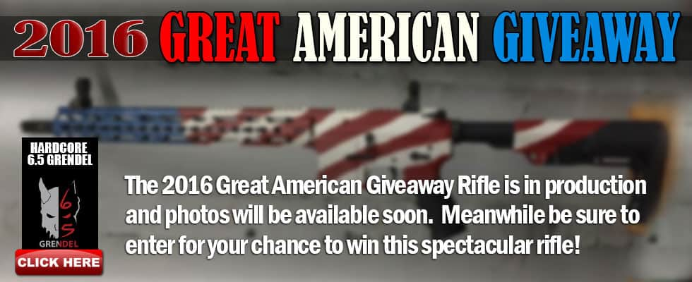 CORE Rifle Systems Great American Giveaway
