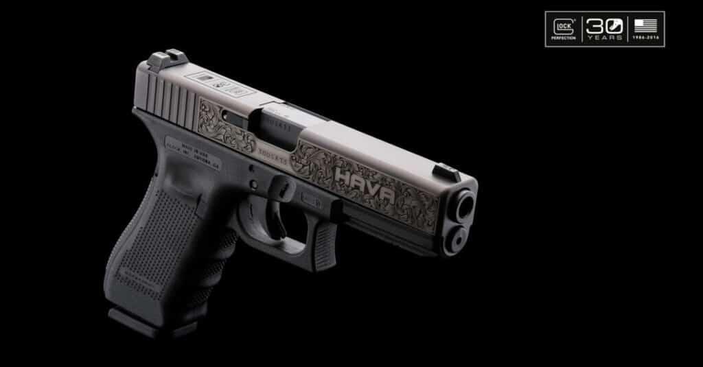 Glock 30th Anniversary Gun
