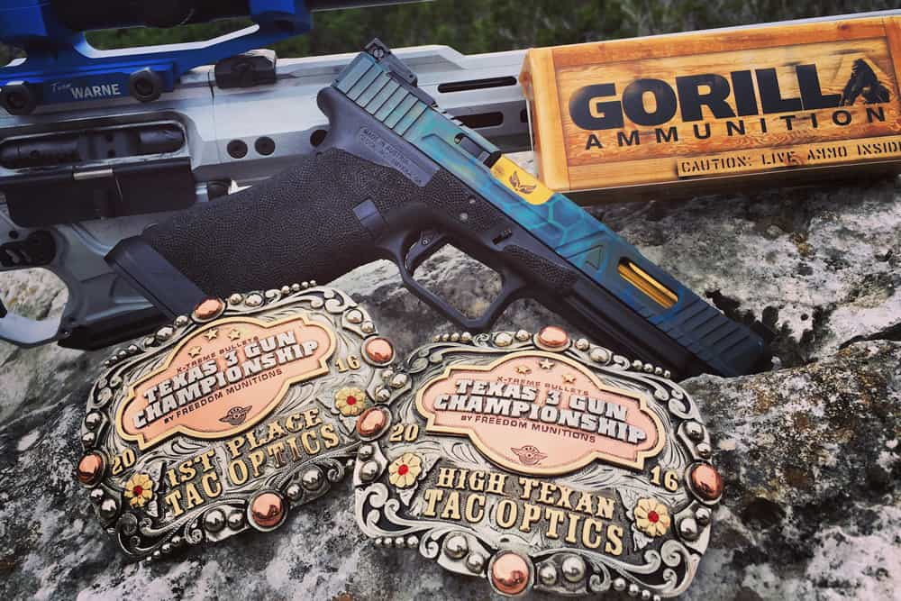 Gorilla Ammunition Pro Shooter Nick Atkinson Wins Texas 3Gun Championship