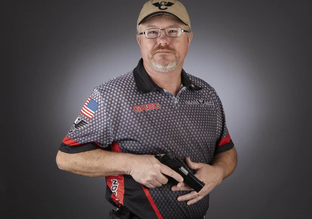 Greg Martin - Wilson Combat Shooting Team