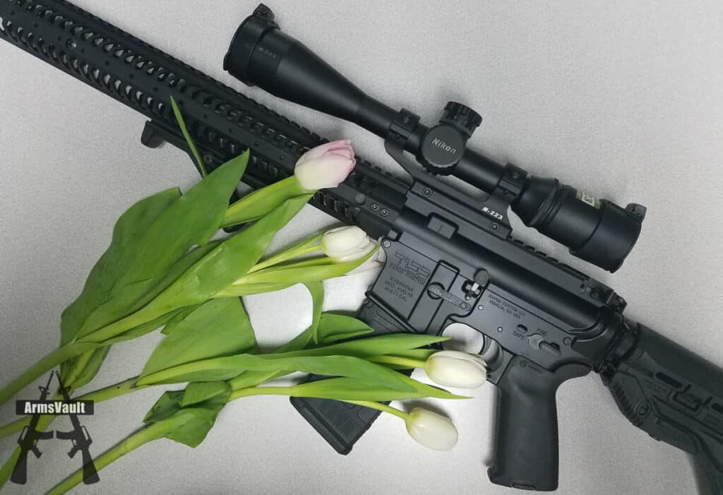 Kavod Custom AR-15 with Tulips