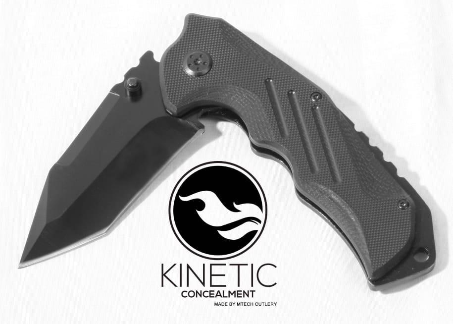 Kinetic Concealment TAC-1 Tactical Knife