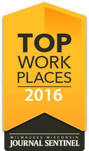 Milwaukee Wisconsin Jounal Sentinel Top Work Places