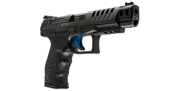 Walther Q5 Match with Apex Flat Trigger