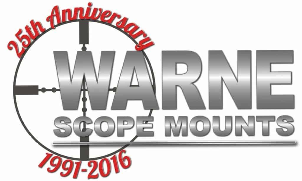 Warne Scope Mounts 25th Anniversary