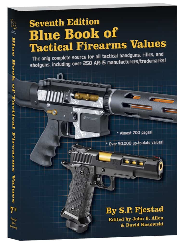 7th Edition of Blue Book of Tactical Firearms Values
