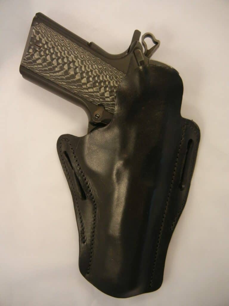 Andys Leather 1911 Scabbard Holster in Black