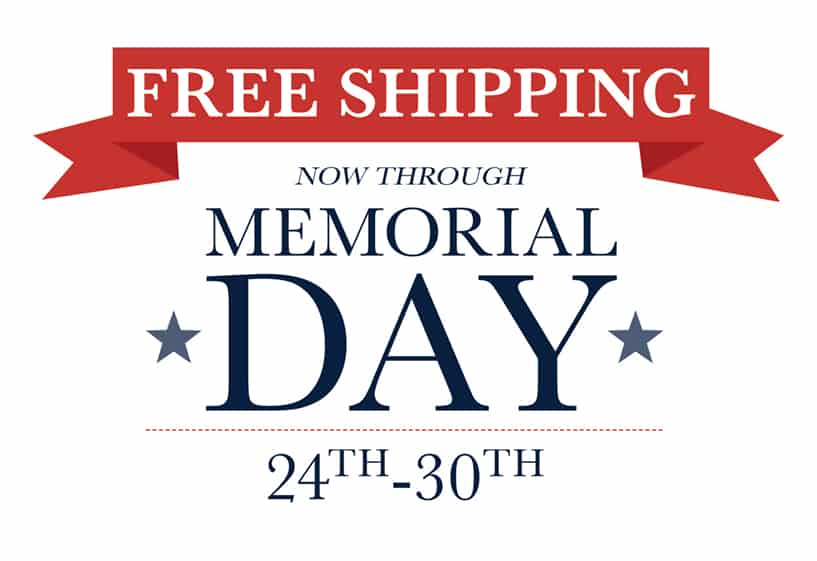 Apex Tactical Memorial Day Free Shipping
