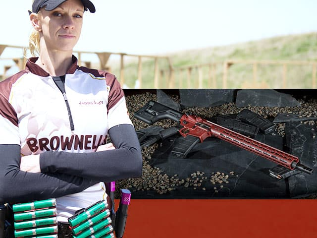 Brownells Sweepstakes for Custom Rifle and Range Day with Janna Reeves