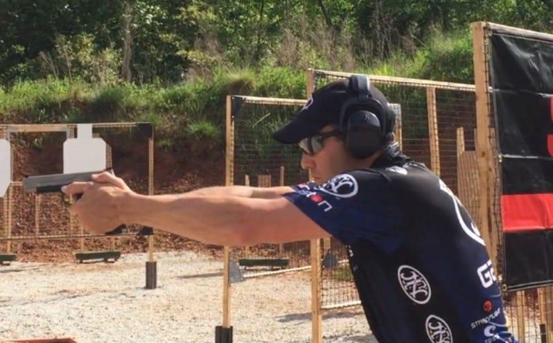 Dave Sevigny at 2016 USPSA FN Area 6