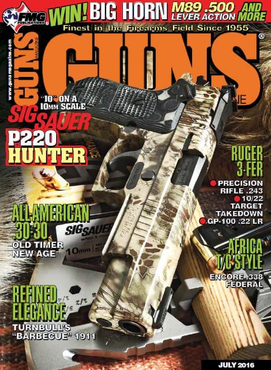 GUNS Magazine - July 2016