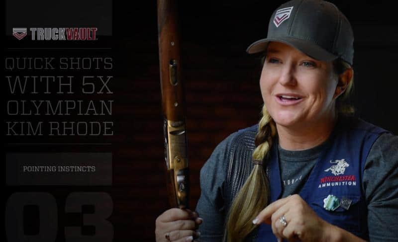 TruckVault Sponsored Shooter Kim Rhode