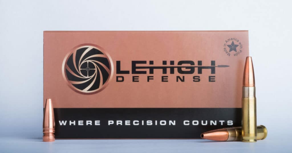 Lehigh Defense 300 Blackout - Whisper Controlled Chaos Copper Ammunition