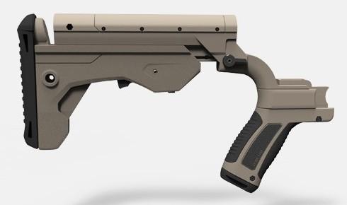 Slide Fire SSAR-15 MOD in FDE
