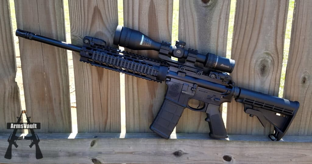 Smith Wesson MP15T with Burris AR Riflescope