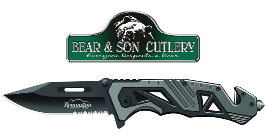 Bear and Son Cutlery Remington Rescue Knife