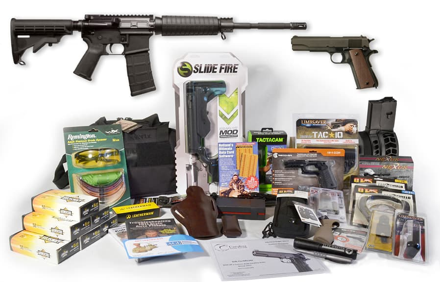 GCA Ultimate Gun Giveaway AR-15 and 1911 Package
