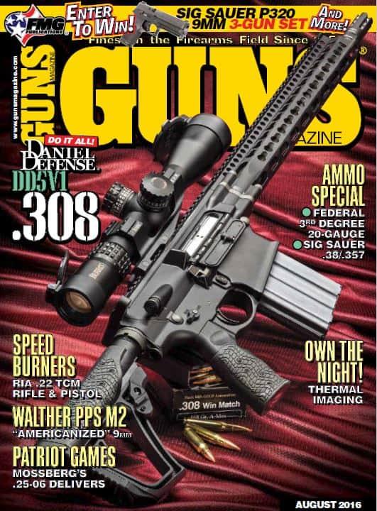 GUNS Magazine - August 2016